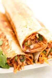 roasted chicken burrito